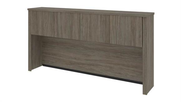 "Hutches Bestar Office Furniture 72"" W Hutch for 72"" Narrow Desk Shell"