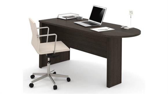 Office Credenzas Bestar Office Furniture Peninsula Table