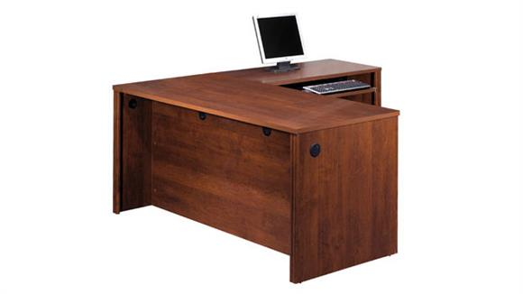 L Shaped Desks Bestar Office Furniture L Shaped Desk 60852