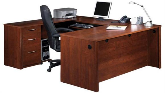 U Shaped Desks Bestar Office Furniture U Shaped Desk