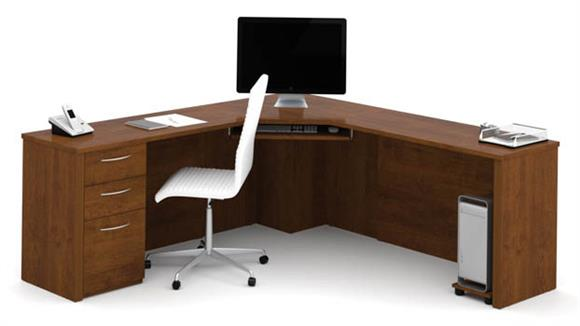 Corner Desks Bestar Office Furniture Corner Desk