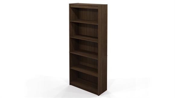 Bookcases Bestar Office Furniture 5 Shelf Bookcase