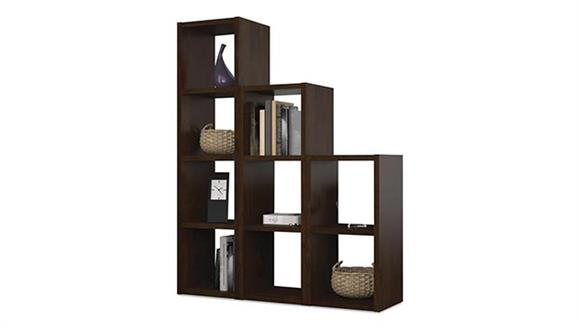 Bookcases Bestar Office Furniture 9 Section Cubby