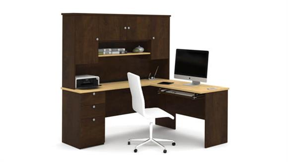 L Shaped Desks Bestar Office Furniture L Shaped Desk