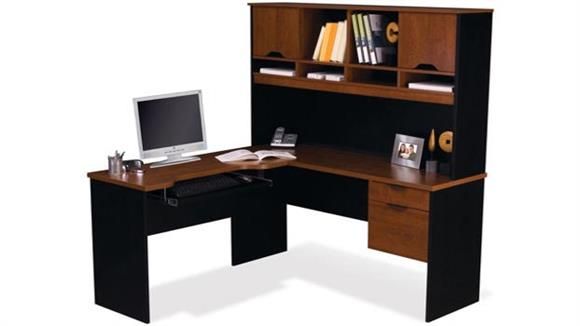 L Shaped Desks Bestar Office Furniture L Shaped Computer Work Station 92420