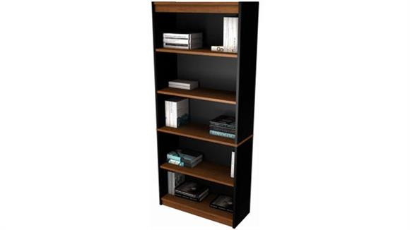 "Bookcases Bestar Office Furniture 72"" High Bookcase 92700"