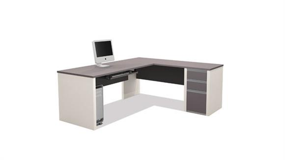 L Shaped Desks Bestar Office Furniture L Shaped Desk 93880