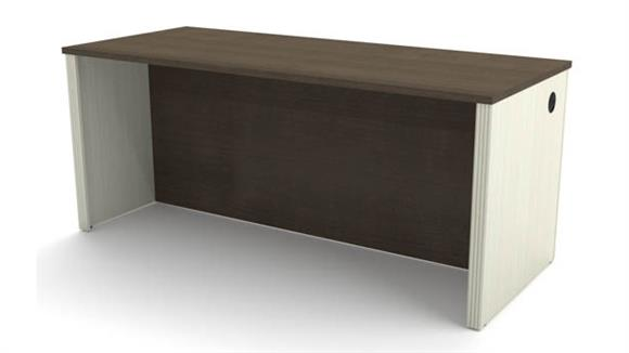 Executive Desks Bestar Office Furniture Executive Desk Shell