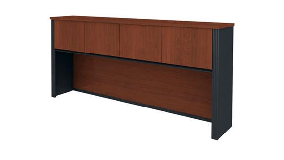 Hutches Bestar Office Furniture Hutch for Credenza
