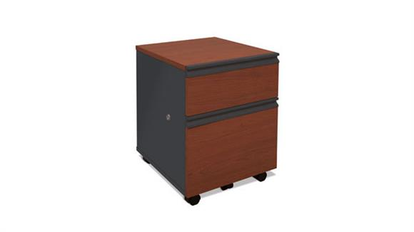 Mobile File Cabinets Bestar Office Furniture 2 Drawer Mobile File 99625