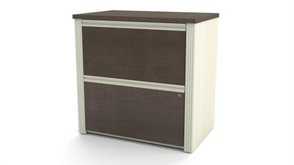 "File Cabinets Lateral Bestar Office Furniture 30"" Lateral File"
