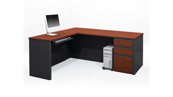 L Shaped Desks Bestar Office Furniture L Shaped Desk 99860