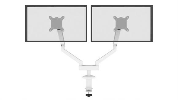 Monitor Stands / Arms Bestar Office Furniture Dual Monitor Arm