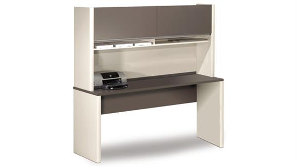 Office Credenzas Bestar Office Furniture Credenza with Hutch