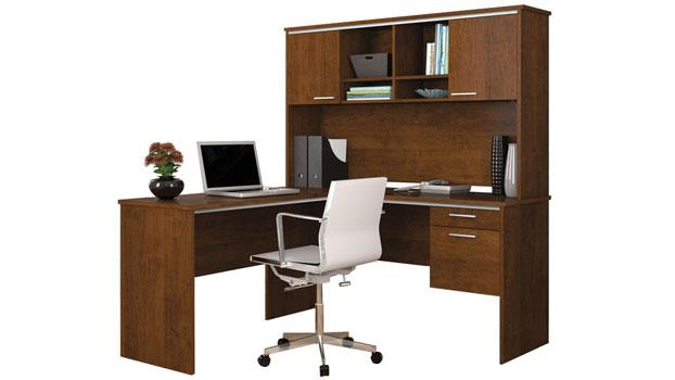 Peachy Bestar Office Furniture L Shaped Desk Home Interior And Landscaping Ologienasavecom