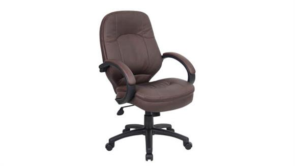 Office Chairs BOSS Office Chairs LeatherPlus Executive Chair