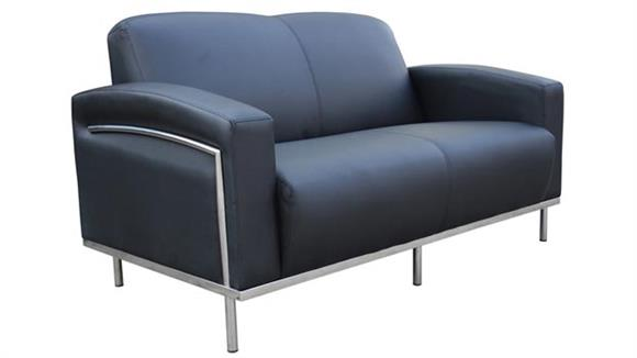 Loveseats BOSS Office Chairs Contemporary Style Loveseat