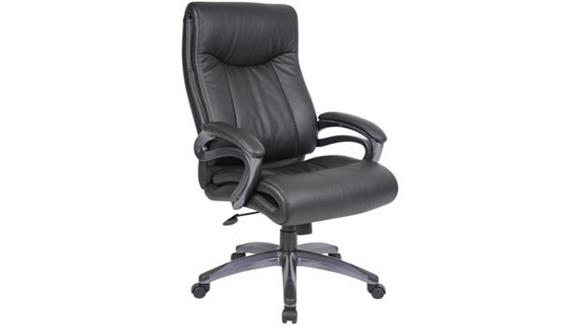 Office Chairs BOSS Office Chairs High Back Leather Chair