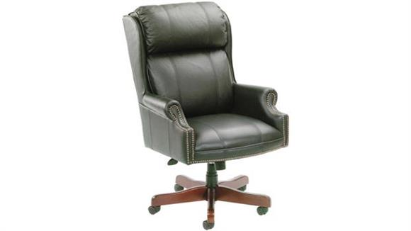 Office Chairs BOSS Office Chairs Vinyl High Back Executive Chair
