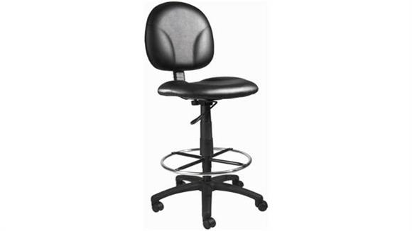 Drafting Stools BOSS Office Chairs Black Caressoft Drafting Stool
