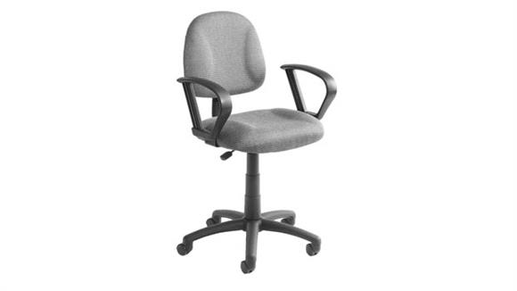 Office Chairs BOSS Office Chairs Task Chair with Loop Arms