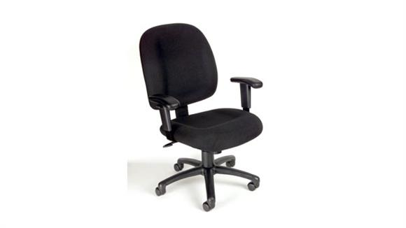 Office Chairs BOSS Office Chairs Task Chair with Adjustable Arms
