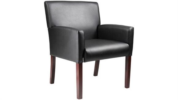 Side & Guest Chairs BOSS Office Chairs Reception Box Arm Chair