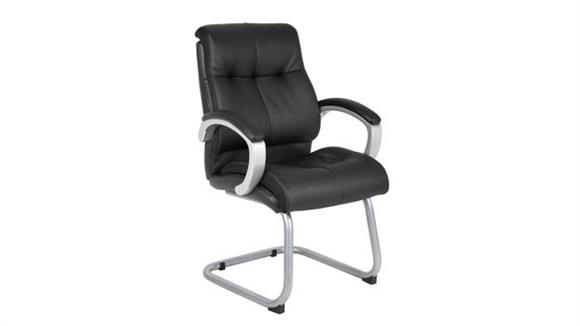 Side & Guest Chairs BOSS Office Chairs Double Plush Executive Guest Chair