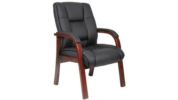 Side & Guest Chairs BOSS Office Chairs Mid Back Guest Chair