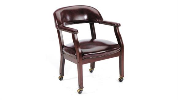Side & Guest Chairs BOSS Office Chairs Guest Chair with Casters