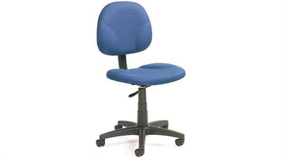 Office Chairs BOSS Office Chairs Armless Fabric Task Chair