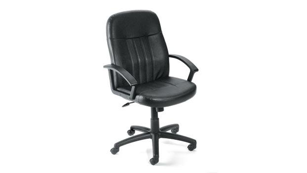 Outstanding High Back Leather Executive Chair By Boss Office Chairs Machost Co Dining Chair Design Ideas Machostcouk