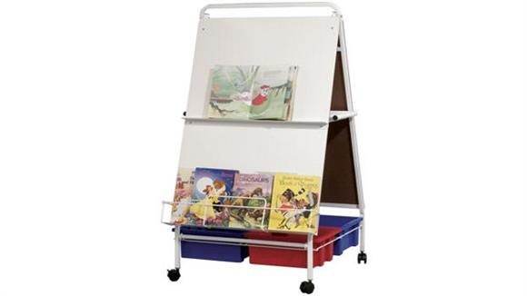 White Boards & Marker Boards Best Rite Baby Folding Wheasel with Storage Tubs