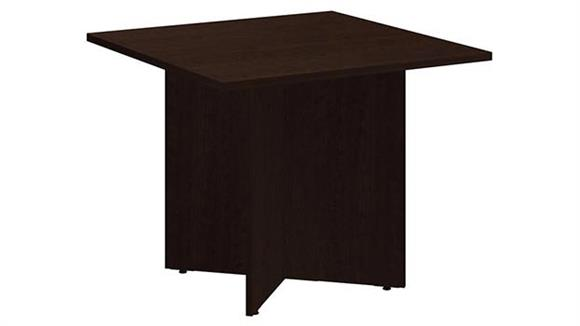 "Conference Tables Bush Furniture 36"" Square Conference Table"