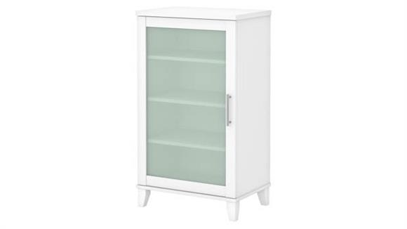Media Storage Bush Furniture Media Accent Cabinet