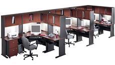 Workstations & Cubicles Bush Furniture Set of 3 Workstations