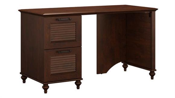 """Computer Desks Bush Furniture 51""""W Desk with 2 Drawer Pedestal"""