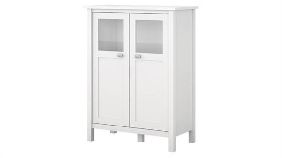 Wine Storage Bush Furniture Bar Cabinet with Wine Storage