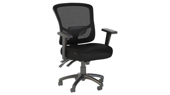 Office Chairs Bush Furniture Mid Back Multifunction Mesh Executive Office Chair