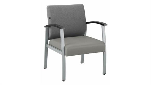 Side & Guest Chairs Bush Furniture Guest Chair with Arms