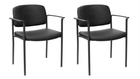 Office Chairs Bush Furniture Office Guest Chairs - Set of 2