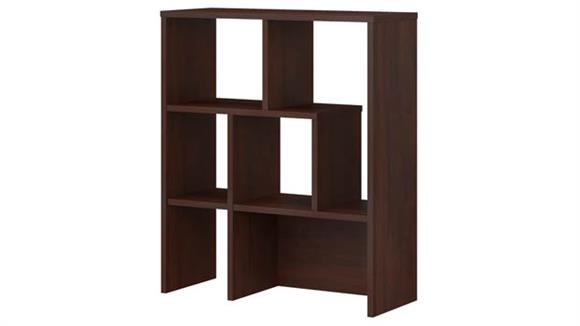 Hutches Bush Furniture Bookcase Hutch