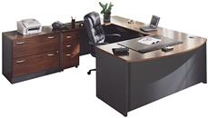 U Shaped Desks Bush Furniture U Shaped Desk with Lateral File