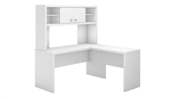 L Shaped Desks Bush Furniture L Shaped Desk with Hutch