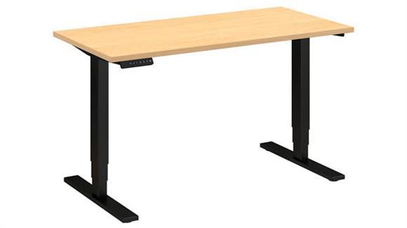"""Adjustable Height Desks & Tables Bush Furniture 48""""W x 24""""D Height Adjustable Standing Desk"""