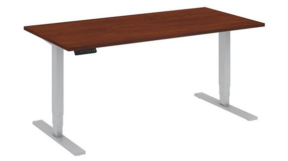 "Adjustable Height Desks & Tables Bush Furniture 60""W x 30""D Height Adjustable Standing Desk"