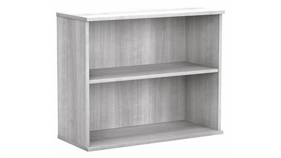 Bookcases Bush Furniture Small 2 Shelf Bookcase