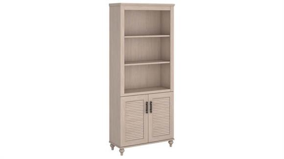 "Bookcases Bush Furniture 71""H Bookcase with Doors"