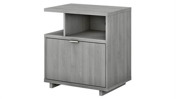 File Cabinets Lateral Bush Furniture Lateral File Cabinet with Shelves