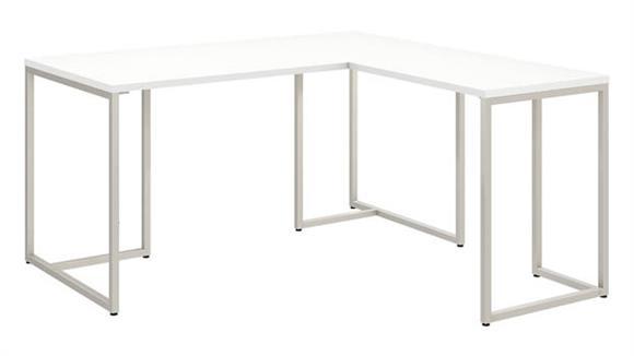 "L Shaped Desks Bush Furniture 60""W L Shaped Desk with 30""W Return"
